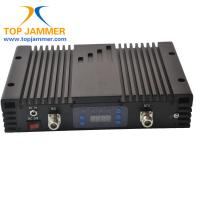 Quality 65dB 20dBm GSM 850MHz & 4G LTE 2600MHz Dual Band Mobile Signal Repeater Booster Amplifier for sale