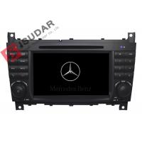 Quality C Class W203 Car DVD Player For Mercedes Benz Support Google Maps Online Navigating for sale