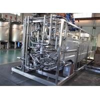Quality Milk Heating Dairy Processing Equipment 137-142℃ UHT Tubular Pasteurizer 8TPH for sale