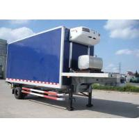 Quality 30 Foot 1 Axles Refrigerated Cargo Trailer , Transport Refrigerated Box Trailer for sale