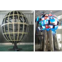China CE ROHS Sphere LED Display With 360 Degree / Waterproof LED Ball Full Color For Hotel , Stage on sale