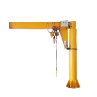 Quality Flexible Rotation Workshop 1000kg 1ton Slewing Jib Crane for sale