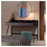 China Simple Dressing Tables With Mirror Glass Door / Wardrobe Hotel Furniture Set on sale