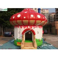 Buy Indoor / Outdoor Kids Mushroom Inflatable Bounce Houses Commercial at wholesale prices