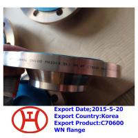 Quality C70600 WN flange for sale