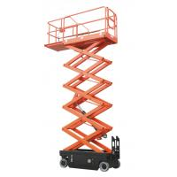 Quality Portable Scissor Lift Table For Warehouse , Maximum Working Height 8m for sale