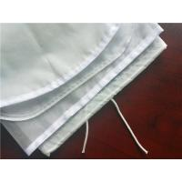 Quality Customized 10*12inch 110micron FDA nylon mesh nut milk filter bags for sale