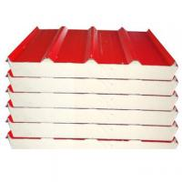 Buy cheap 50mm thick PU sandwich panel from wholesalers