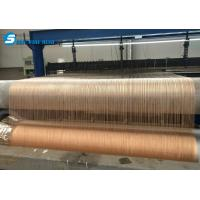 China Decorative Glass Laminated Metal Wire Mesh on sale