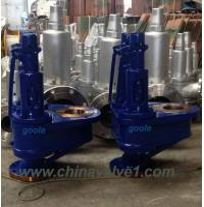 China Cast Carbon Steel Double Port Safety Valve,Cast Steel, bronze relief valve on sale