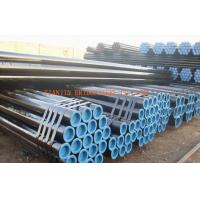 Quality Q345 / 16Mn Black Seamless Steel Tubing, Hot Rolled Seamless Pipe OD 12mm - 480mm for sale