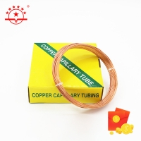Buy cheap OD 3.69MM 3m Length HVAC Copper Capillary Tube from wholesalers