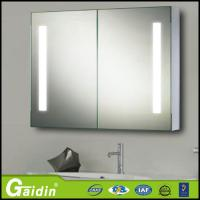 China Mirrored Cabinets Type bathroom mirror cabinet with light on sale