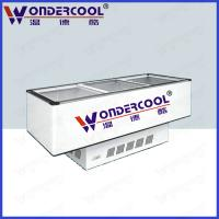 China Commercial Static cooling cheap island display freezer ice cream freezer chest freezer on sale