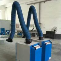 Quality Cleaning equipment fabric dust collector 160mm PVC coated glass fiber ducting for sale