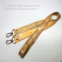 Best Double Ends Open Lanyard with Rivet, Two Ends Dye Sub Print open Lanyards wholesale