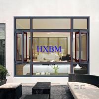 Quality Villa Wear Resistant Aluminum Clad Wood Windows 6063 -T5 Aluminum Profile for sale