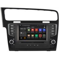 Quality 2013 2014 2015 Volkswagen Golf 7 Bluetooth , Volkswagen DVD Navigation With 16GB ROM Flash for sale
