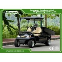 Quality A1H2 Black Cargo Freight Electric Utility Carts battery powered utility vehicles for sale