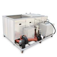 Best Twin Tanks 135 Liters stainless steel tank with heating tank to remove oil and paint wholesale