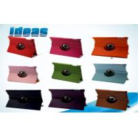 Quality Genuine Apple iPad Leather Cases / iPad 4 Creen 360 Degree Rotate Protectors Cover for sale