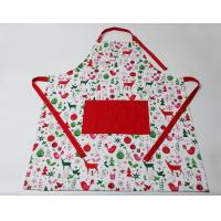 Quality Durable Colorful? Cute Cooking Aprons Cotton Polyester  Logo Embroidery Print for sale