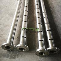 Quality Seamless Slotted Casing Pipe Screens Liner API J55 / K55 / N80 Standard for sale