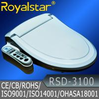 Quality Slow close Plastic Sanitary Toilet Lid Cover / China Toilet Seats electronic bidet seat for sale for sale