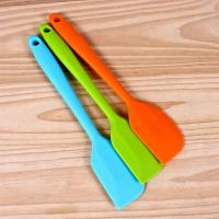 Best Cake Cream Butter Kitchen Baking Silicone Spatula Mixing Batter Scraper wholesale