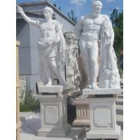 Quality Ancient Rome statues Museum marble sculptures Heracles replica stone statue,stone carving supplier for sale