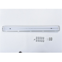 Quality IP65 T8 Tube 2x18w 2x36w Waterproof Led Light Fixtures for sale