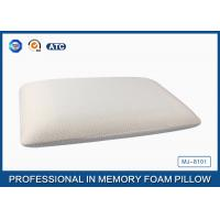 China 75*45 Traditional Shape Memory Foam Pillow with Cooling Gel Pad - air circulate treatment on sale