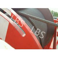 Quality Heavy Duty Lebus Groove Drum Tower Crane Winch 100m - 10000m Rope Capacity for sale