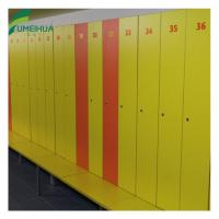 China two tier compact laminate gym lockers with num lock on sale
