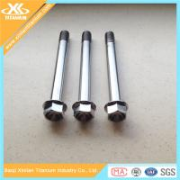 Best Metric Titanium Hex Flange Bolts From China Manufacturer wholesale