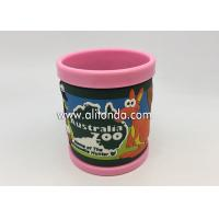 Quality 2019 new creative promotional gifts supply and custom with pvc silicone wrap 3d anime mugs for sale
