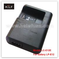 Buy Digital Camera Charger LC-E12E For Canon Battery LP-E12 at wholesale prices