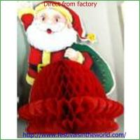 Best christmas  honeycomb decoration  craft wholesale