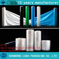 China Colored plastic Heat Shrink Wrap Film pre stretch 280% on sale
