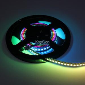 KooSion WS2812 ws2812b Flexible LED pixel Strip lights 144leds/mtr DC5V waterproof