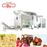 Non Contamination Chocolate Coating Machine For Pharmaceuticals Industrial