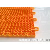 China Anti Slip Plastic PP Interlocking Floor Tiles , Eco Friendly Bathroom Flooring Materials on sale