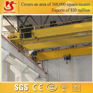 Quality Double girder electric driven euro style bridge mobile warehouse crane for sale