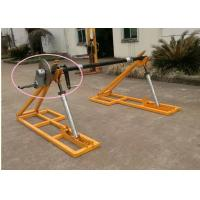 Quality Detachable Type Drum Brakes Cable Reel Stand Wire Rope Reel Support Conductor for sale