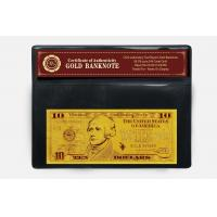 Best 10 USD 24k Gold Dollar Bill wholesale