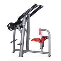 Buy cheap Front Pull Down high back trainer,Seated back strength training machine from wholesalers