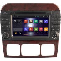 Quality Multimedia S Class W220 Mercedes Benz Radio GPS , Mercedes Benz Car Stereo 1999 - 2005 for sale
