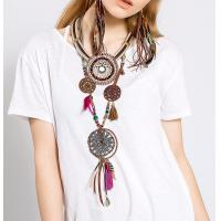 inspiration jewelry website design dream catcher crochet necklace with pendants