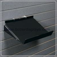Best Black 1''8 thick Acrylic Shelf with Side Supports wholesale