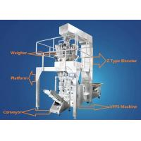 Quality Full Automatic Granule Food Packing Machine For Coffee Beans / Peanuts / Cashew Nuts for sale